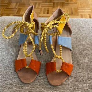 Women's colorful sandals 🌸💐🌷🌹👡👠